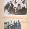 Mikhail Ivanovich Kalinin, 1875-1946; woman sitting on a cushion-Bessie Beatty, Amer. correspondent.]  Supplied by International, 226 Williams st., N.Y.Left to right: B. Beatty, M. Kalinin.