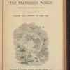 Feathered world Volume 24