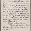 Brown, John, ALS to. Aug. 25, 1877.