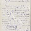 Rogers, [Henry Huttleston], ALS to. Dec. 22, 1894.