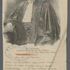 M. Ucciani, Président au Tribunal de la Seine. Cliché Eug. Pirous, phot., Paris