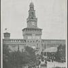 Milano.--La Torre Umberto I, inaugurata nel Castello Sforzesco --24 settembre (fot. Guigoni e Bossi)