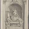 Vrbani. VII. Barberine Florent. Pont. Max. In Vaticano tvmvlvm excitavit et ornavit Ioannes Lavrentius Berninvs Eqves