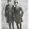 Portrait of entertainers Bert Williams and George Walker