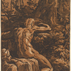 Narcissus at the Spring ; after Parmigianino