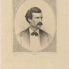 Bicknell, W. H. W. Portrait engraving of SLC, dated 1871.