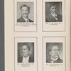 Rev. Wm. M. Johnson, D.D., Chairman Executive Board General Association ; Rev. G. W. Ward, D.D., Ex-Moderator ; Rev. Robert Mitchell, D.D., Ex-Moderator, Lexington, Ky. ; Rev. P. H. Kennedy, D.D., Henderson, Ky.