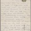 Clemens, Olivia Langdon, ALS to Mrs Gerhardt. Aug. 7, 1881.