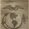 Living Emblem of the United States Marines: 100 Officers and 9000 Enlisted men, Marine Barracks, Paris Island, S.C., Brigadier General J.H. Pendleton, Commanding