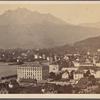 Lucerne & le Mt. Pilate