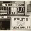 Fruit sign. Beaufort, South Carolina