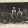 Children of Sam Nichols, [Boone County,] Arkansas tenant farmer