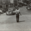 Traffic cop in Brattleboro, Vermont