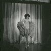 Puerto Rico Cabaret: woman onstage with feather boa, no. 128