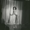 Puerto Rico Cabaret: woman onstage in profile, no. 131