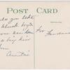 """Alligator Bait"" - postcard to Frederick Hoeing"