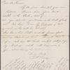 Crane, T[heodore] W., ALS to SLC. Nov. 5, [n.y.]