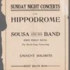Hippodrome souvenir booklet for Hip! Hip! Hooray!