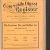 Automobile digest and register. Volume 1, January-June 1915: Greater New York registrations