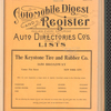 Automobile digest and register. Volume 1, January-June 1915: Albany, Commercial Cars, New Jersey
