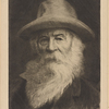 Portrait of Walt Whitman etched by Léon Richeton