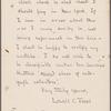 Letterbook. Dec. 29, 1905-March 4, 1907