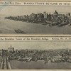 Manhattan's skyline in 1912, from the Brooklyn Tower of the Brooklyn Bridge