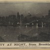 The city at night, from Brooklyn Heights