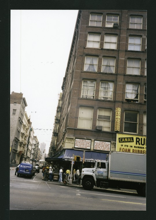 Block 378: Canal Street between Mercer Street and Greene Street (north side)