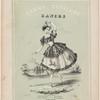 Fanny Elssler's dances: No. 1, La cracovienne, no. 2, La gitana, no. 3, La cachucha, no. 4, La mazurka