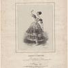 La cachucha. Dansée par Fanny Elssler, arrangée pour le piano avec accompt de castagnettes ad libitum par sala. Victor Coindre. Lith: de Magnier.
