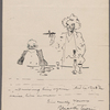 Cesare [copy?], Caricature of SLC and Andrew Carnegie, 1906.