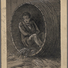 Pen and ink drawings for engravings for Tom Sawyer, True W. Williams.
