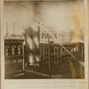 Burning of Abbey's Park Theatre, New York