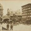 Grand Central Terminal (original); horse drawn cabs; El Station; Grand Union Hotel