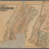 Outline & Index Map of New York City, New York.