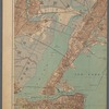 Double Page Plate No. 3: Brooklyn, New York Bay, Jersey City, Hoboken, Bayonne and Newark Bay