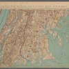 Double Page Plate No. 8: Long Island Sound - Westchester North to Mt. Vernon - Queens South to Jamaica