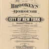 Atlas of the Brooklyn borough of the City of New York : originally Kings Co.; complete in three volumes ... based upon official maps and plans ...[Title Page]