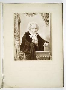 [A Portrait of Russian old woman.]