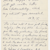 Blake, Harrison G. O., Copy of letter to, in the hand of the recipient. Jun. 23, 1857.
