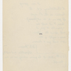 Blake, Harrison G. O., Copy of letter to, in the hand of the recipient. Dec. 2, 1860.