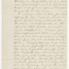 [Williams, Isaiah], Copy of letter to, in hand of Elizabeth Hoar. Sep. 8, 1841.