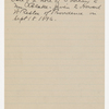 [Blake, H. G. O., note to. Jan. 19, 1859].