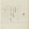 [Emerson, Lidian], ALS to. Oct. 16, 1843.