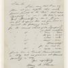 [Griswold, Rufus W.], ALS to. Oct. 9, 1841.