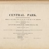 Central Park : memorial of the Common Council of the City of New York to the Legislature, approved June 11th, 1853...[title page]