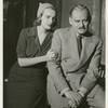 Frances Farmer and Roman Bohnen in the stage production Golden Boy.