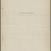 The Memorable Assassination. Emended typescript, 1898.