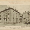 August Belmont's House and Art Gallery. Northeast corner of Fifth Avenue and 18th Street. Just before demolition in 1894-95